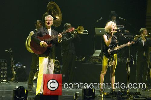 David Byrne, St Vincent and Annie Clark