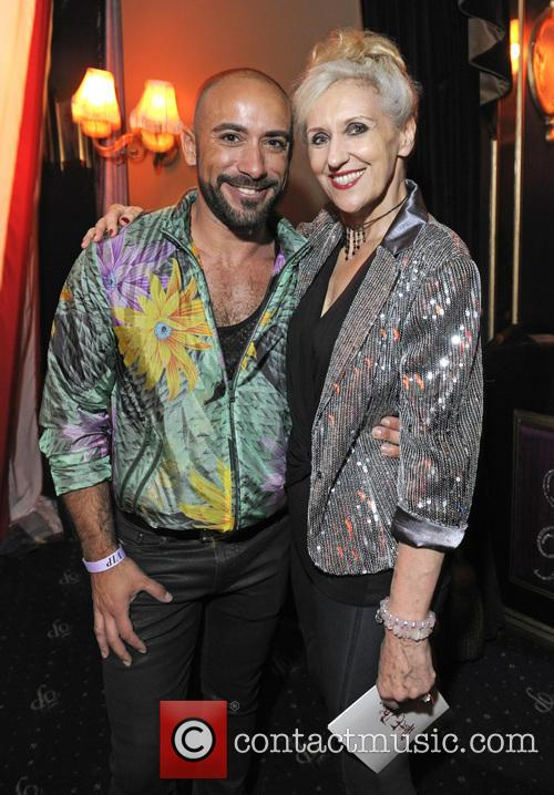 Davide Cini and Anita Dobson