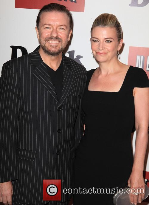 Ricky Gervais and Jane Fallon 1