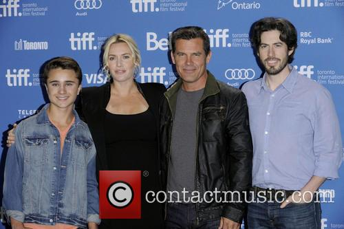Gattlin Griffith, Kate Winslet, Josh Brolin and Jason Reitman