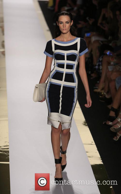 Herve Leger, Max Azria and Runway