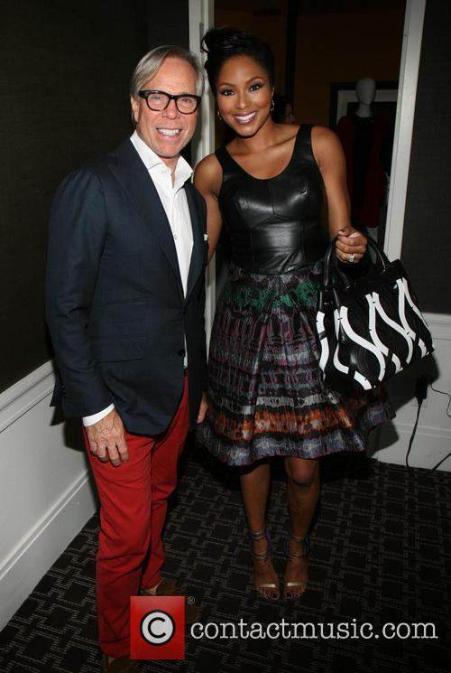 Tommy Hilfiger and Alicia Quarles 2
