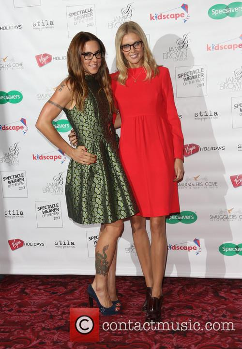Melanie Chisholm and Donna Air 3