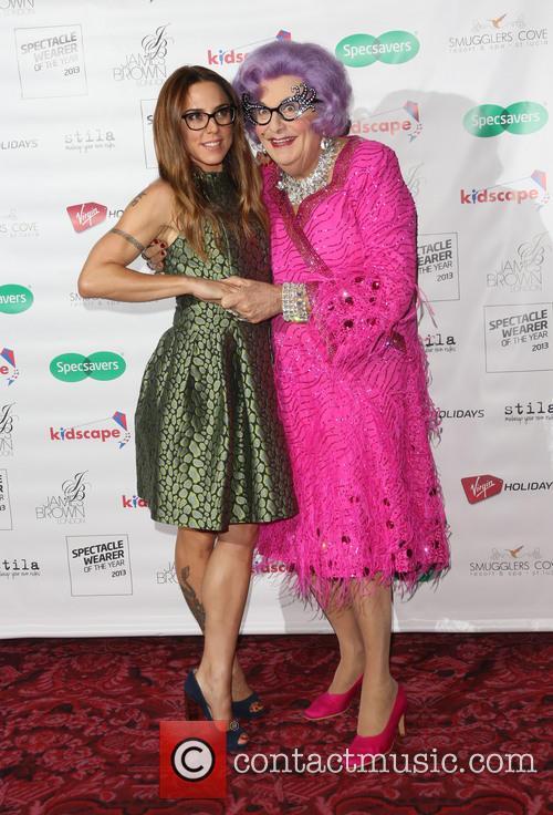 Melanie Chisholm and Dame Edna Everage 10