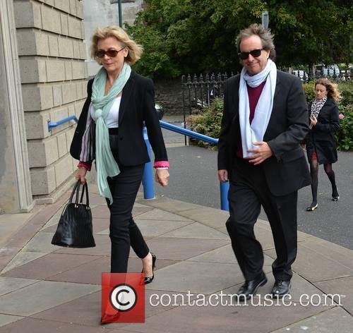 Chris De Burgh and Diane Davison