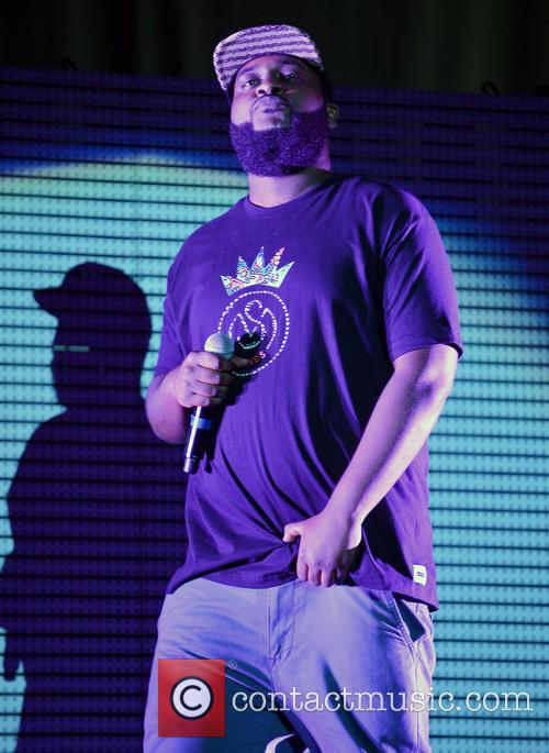 J. Cole and New York Rapper Bas 2