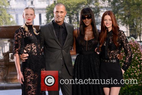 Anne V, Nigel Baker, Naomi Campbell and Lydia Hearst 3