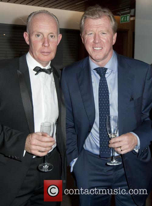 Steve Mcclaren and Vip