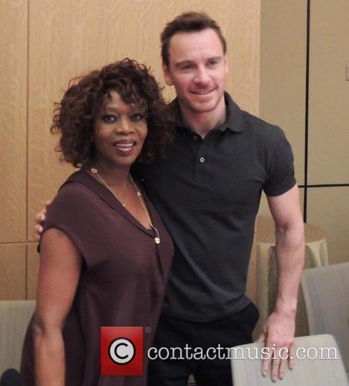 Alfre Woodard and Michael Fassbender 1