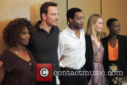 Chewitel Ejiofor, Michael Fassbender, Alfre Woodard, Sarah Paulson and Lupita Nyong'o 2