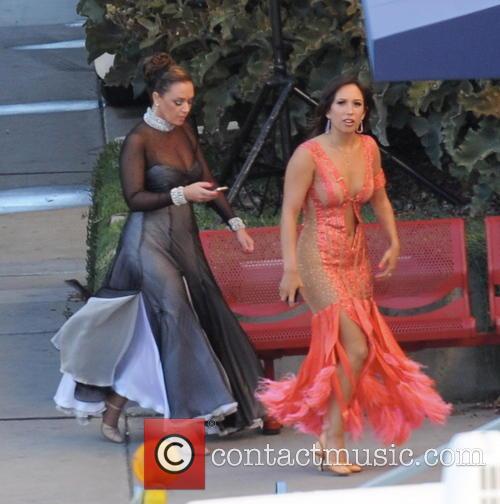Leah Remini and Cheryl Burke 9