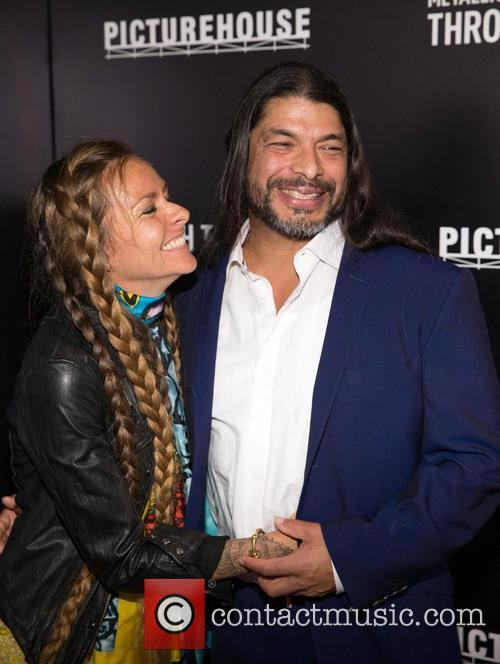 Robert Trujillo and Chloe Trujillo