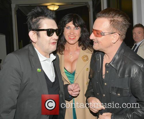 Shane Macgowan, Victoria Mary Clarke and Bono