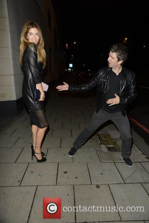Noel Gallagher and Sara Macdonald