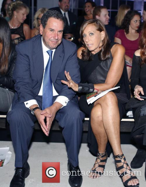 Steve Sadove and Donna Karan