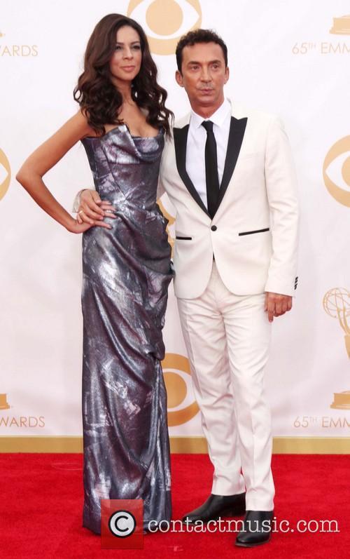 Terri Seymour and Bruno Tonioli