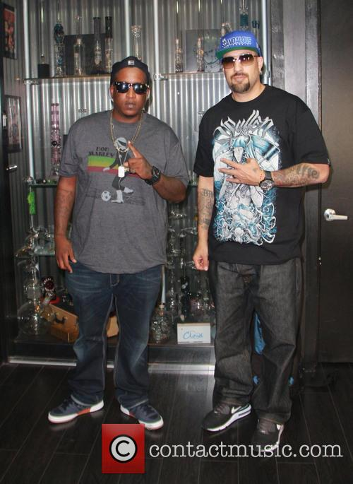 Cypress Hill, Malcolm Greenridge, E.d.i Don, Louis Freese and B-real 1