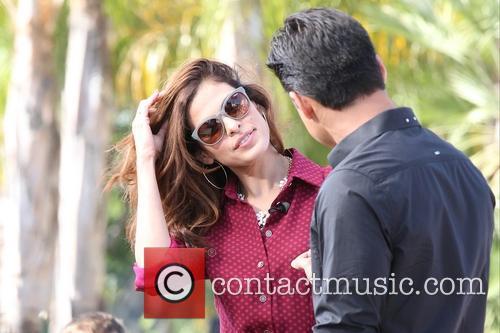 Eva Mendes and Mario Lopez 1