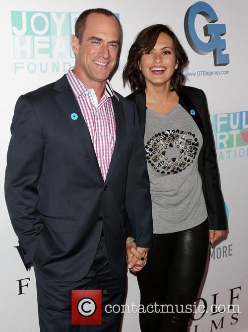 Chris Meloni and Mariska Hargitay
