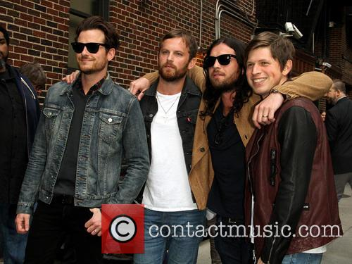 Jared Followill, Caleb Followill, Nathan Followill and Matthew Followill Of The Kings Of Leon