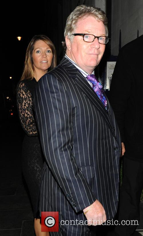 Jim Davidson and Michelle Cotton