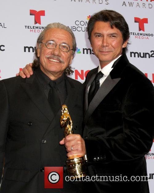 Edward James Olmos and Lou Diamond Phillips