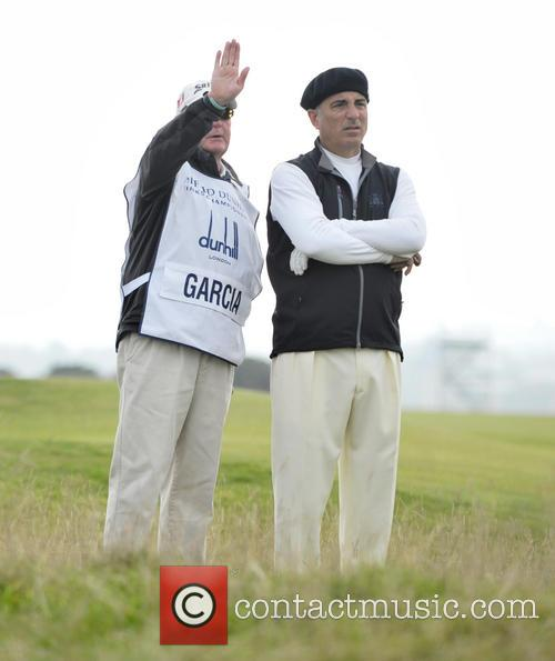 Andy Garcia and Caddie 11