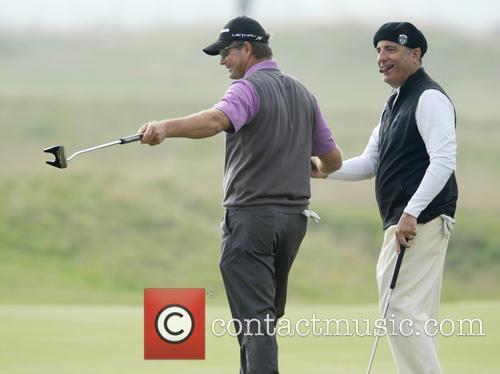 Andy Garcia and Retief Goosen