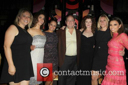 Ana Ortiz, Judy Reyes, Marc Cherry, Rebecca Wisocky, Eva Longoria and Nina Lederman 4