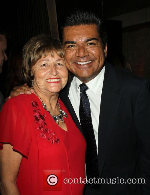 George Lopez and Ella Eva Mireles