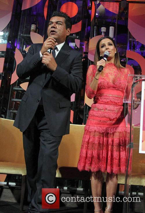 George Lopez and Eva Longoria 2
