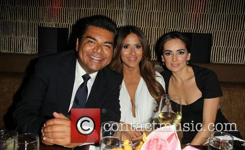George Lopez, Jackie Guerrido and Ana De La Reguera 10