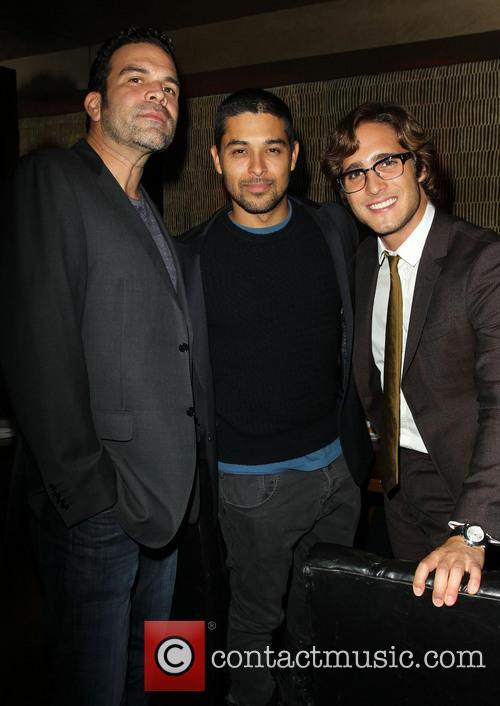 Ricardo Antonio Chavira, Wilmer Valderrama and Diego Boneta 6