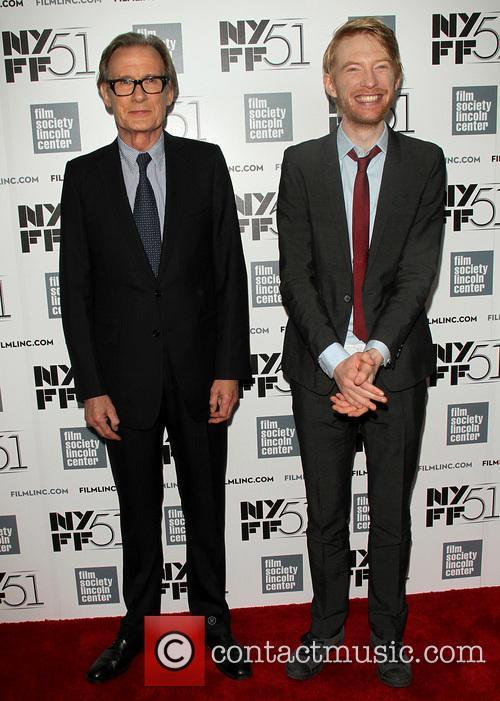 Bill Nighy and Domhnall Gleeson
