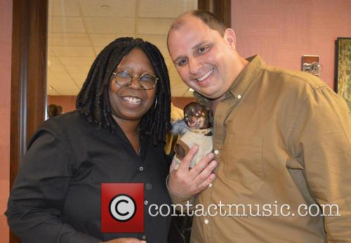 Milly and Whoopi Goldberg 1