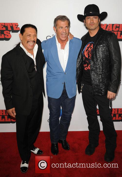Danny Trejo, Mel Gibson and Robert Rodriguez 3