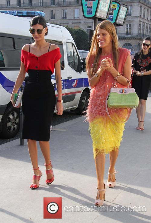 Louis Vuitton, Anna Dello Russo and Giovanna Battaglia