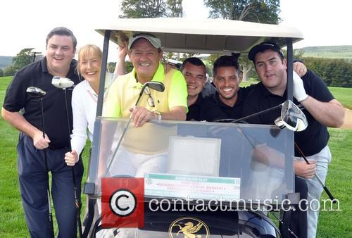 Simon Delaney, Jennifer Gibney, Brendan O'carroll, Danny O'carroll, Keith Duffy and Paddy Houlihan 2