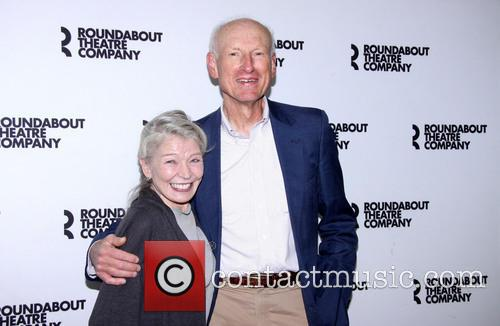 Phyllis Somerville and James Rebhorn