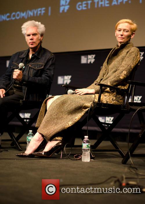 Jim Jarmusch and Tilda Swinton 3