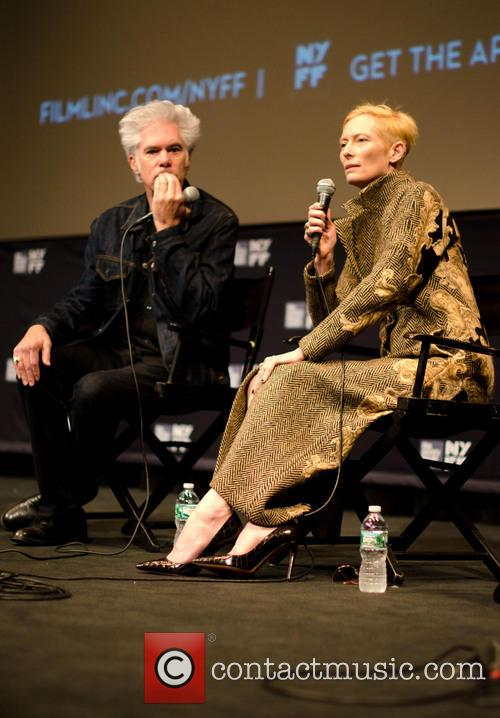 Jim Jarmusch and Tilda Swinton 4