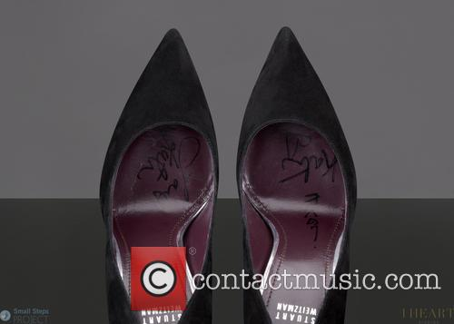 Steps and Celebrity Shoe Auction