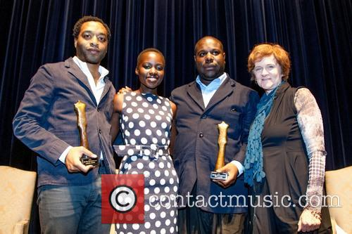 Chiwetel Ejiofor, Lupita Nyong'o, Steve Mcqueen and Zoe Elton 4