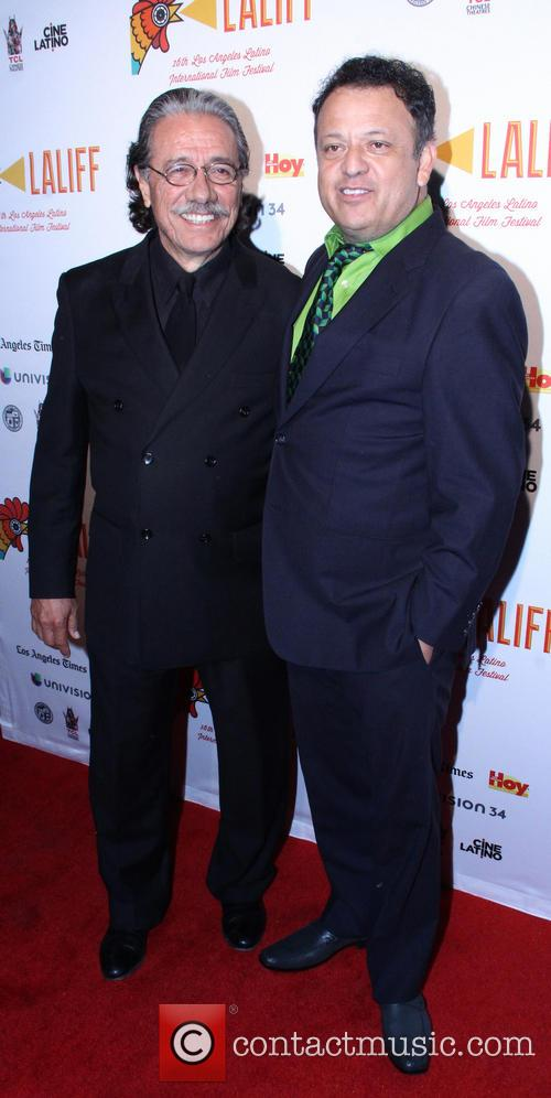 Edward James Olmos and Paul Rodriguez 1