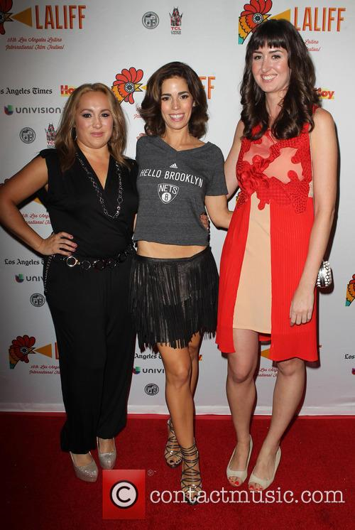 Nicole Gomez Fisher, Ana Ortiz and Courtney Andrialis