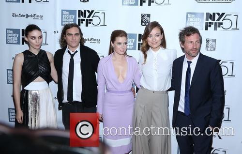 Rooney Mara, Joaquin Phoenix, Amy Adams, Olivia Wilde and Director Spike Jonze
