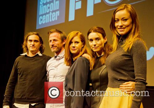 Joaquin Phoenix, Spike Jones, Amy Adams, Rooney Mara and Olivia Wilde 3