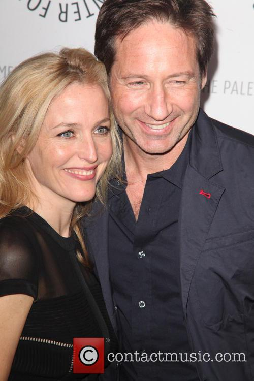 Gillian Anderson and David Duchovny 2