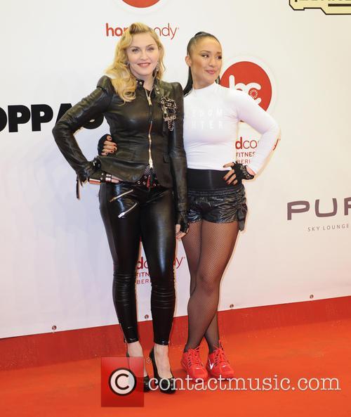 Madonna and Nicole Winhoffer 5