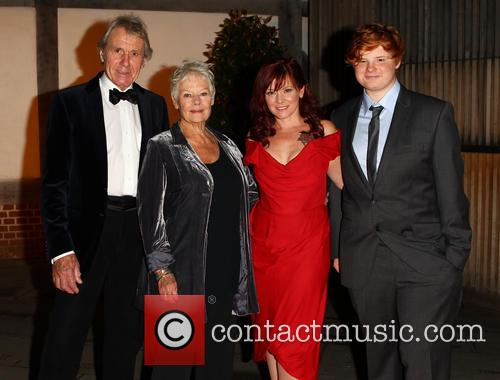 Dame Judi Dench, David Mills, Finty Williams and Sam Williams